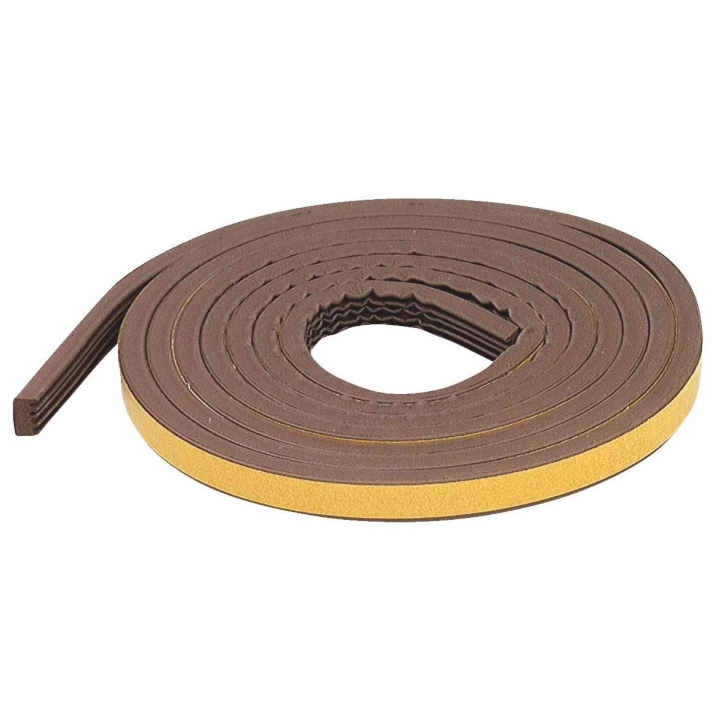 """M-D Brown 10' 19/32"""" Rubber Weatherstrip Image 2"""