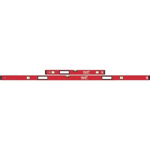 Milwaukee Redstick 78 In. and 32 In. Aluminum Box Level Set