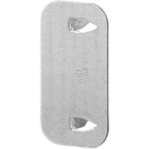 Halex 2-1/2 In. x 1-1/2 In. Steel Cable Protector Plate (25-Pack)